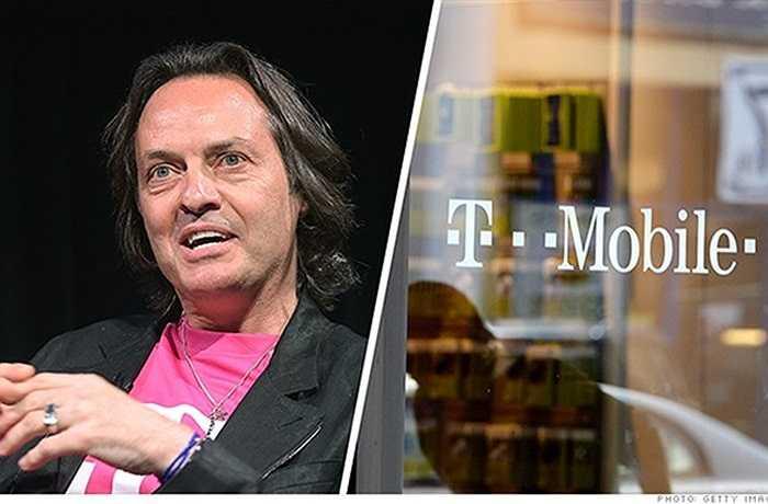 6. John Legere – T-Mobile    Đa số các CEO thường cố gắng tránh xa thị phi. Nhưng CEO John Legere của T-Mobile lại khác. Ngày nào ông cũng đăng lên Twitter với 834.000 người theo dõi của mình những phát biểu chói tai.