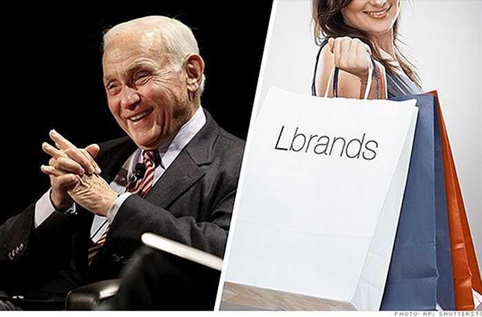 10. Les Wexner    Năm 1963, Les Wexner thành lập công ty L Brands, công ty mẹ của Victoria's Secret, và hiện vẫn giữ được vị trí điều hành công ty. Có trụ sở tại Columbus, Ohio và cũng sở hữu các thương hiệu như PINK và Bath & Body Works, L Brands đang ngày càng trở nên nổi tiếng và lớn mạnh hơn bao giờ hết. Năm 2014, cổ phiếu công ty tăng 40%, đạt mức cao nhất trong lịch sử