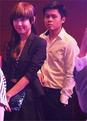 Midu và bạn trai Quang Thành đã có quan hệ tình cảm được một thời gian khá dài.