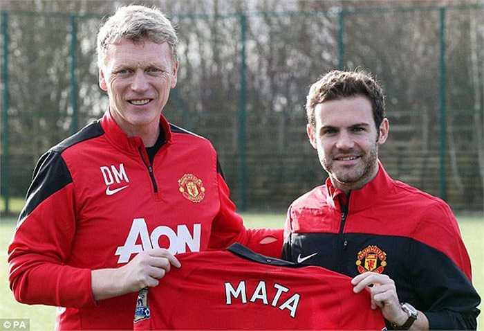 Những ngày cuối tháng 1, Man Utd ký hợp đồng kỷ lục trị giá 37 triệu bảng với Juan Mata với hy vọng chấn hưng đội bóng