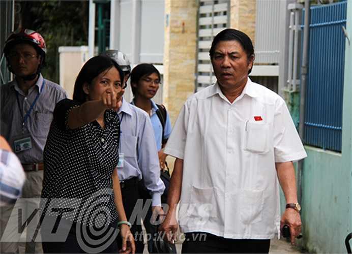 Ngày 23/9, ông Thanh đã đi thị sát ngay sau kết thúc buổi tiếp xúc cử tri để nắm rõ vấn đề cử tri bức xúc