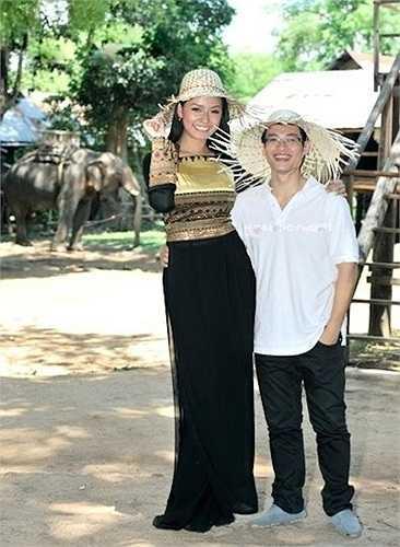 Hà Anh Tuấn cũng không phải trường hợp ngoại lệ khi đứng lép vế bên cạnh Mai Phương Thúy.