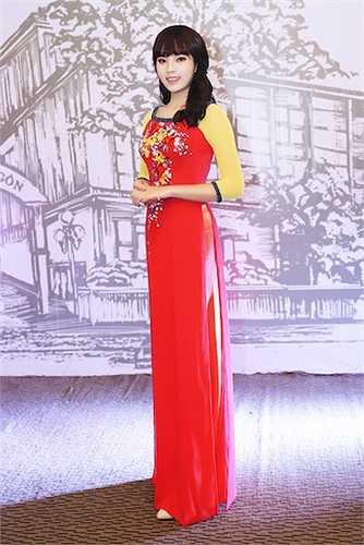 Việc Hoa hậu xuất hiện đã thu hút được nhiều sự chú ý của người hâm mộ.