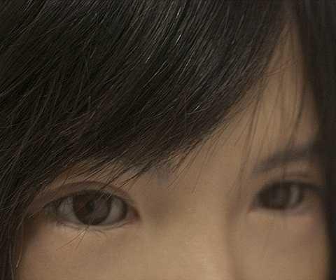 Đôi mắt của Chihira Aico rất thật