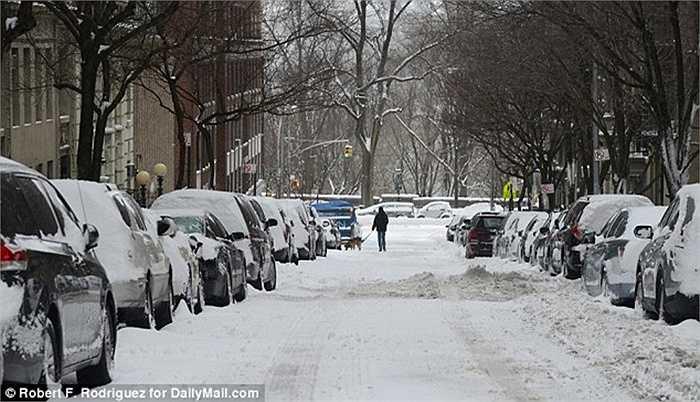 Phương tiện tham gia giao thông khó khăn. Nhiều trường học và doanh nghiệp đóng cửa.