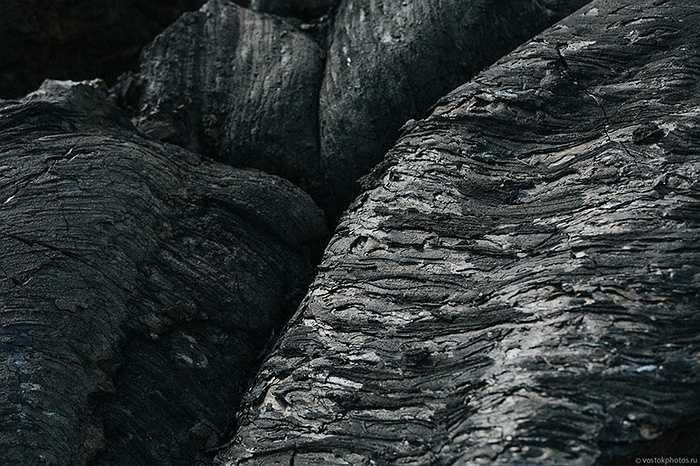 Những lớp nham thạch tràn lên nhau