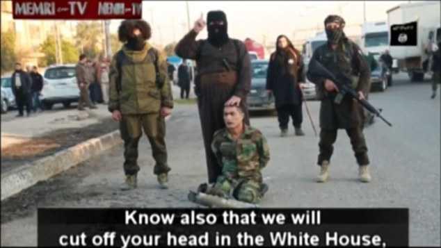 IS đe dọa chặt đầu Tổng thống Obama ở Nhà Trắng