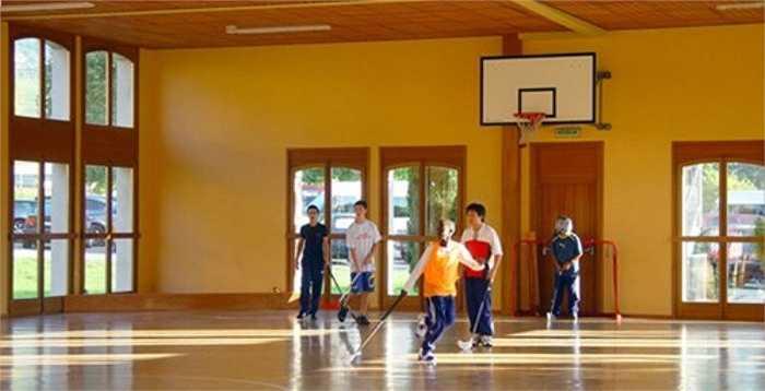 Ngoài ra, sinh viên có thể sử dụng sân golf 18 lỗ của địa phương. Mùa đông, toàn trường sẽ di chuyển đến khu nghỉ mát trượt tuyết Gstaad.