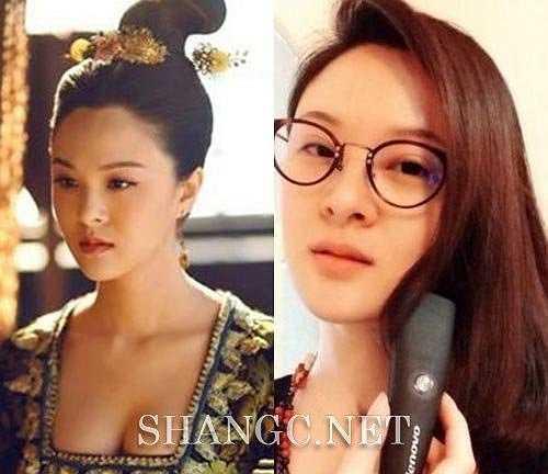 Cung nữ Dương Trường Sử có khuôn mặt hoàn hảo cả trong lẫn ngoài phim