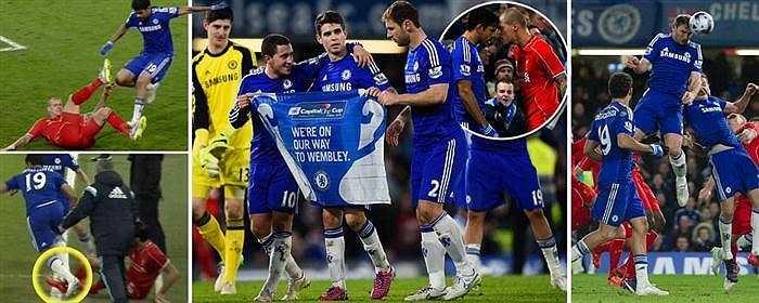 Rạng sáng nay, trong trận bán kết lượt về Cúp liên đoàn Anh (Capital One Cup), hậu vệ Branislav Ivanovic tỏa sáng với pha đánh đầu tung lưới thủ môn Simon Mignolet trong hiệp phụ, giúp Chelsea đánh bại Liverpool.