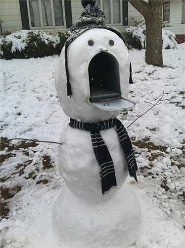 Đây là hộp thư hay là người tuyết