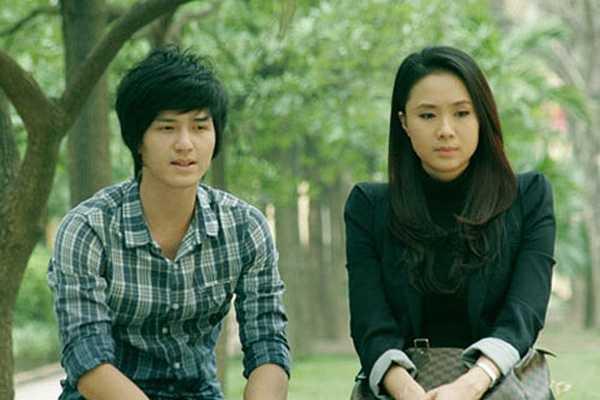 Hồng Diễm - phim Cầu vồng tình yêu: Nếu nói đến mẫu bạn gái truyền thống hiền lành, giản dị thì nhân vật Mộc Miên trong bộ phim 'Cầu vồng tình yêu' là một ví dụ điển hình.