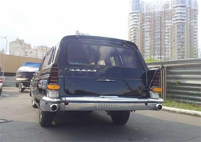 Có chừng 20 chiếc Chaika được nhà máy GAZ đặc chế thành xe cứu thương cao cấp dành cho lãnh đạo.