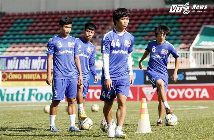 Chiều nay, HAGL đã có buổi tập quan trọng trước thềm trận gặp Than Quảng Ninh ở vòng 6 V-League 2015.