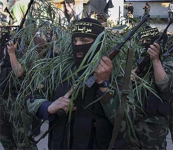 Chiến binh Hamas ở Palestine