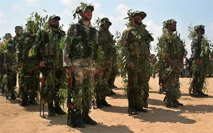 Chiến binh lực lượng Hamas ở Palestine