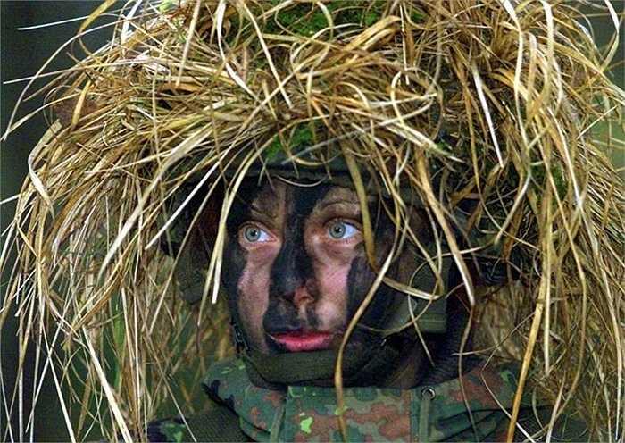 Nữ binh sĩ Đức