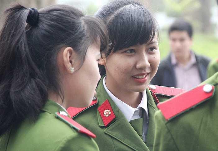 Nhiều chiến sĩ trẻ cảm thấy vô cùng hào hứng khi được tham gia sự kiện ý nghĩa này
