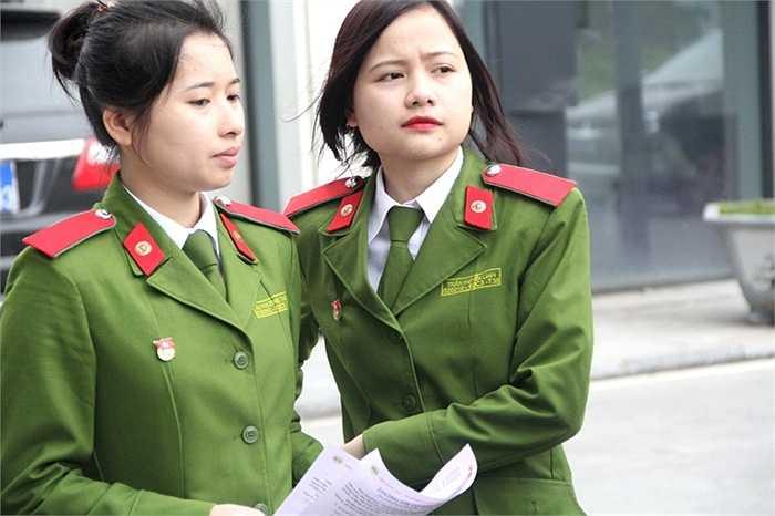 Rất nhiều nữ sinh viên đến từ các khối trường trong Bộ Công an cũng tham dự sự kiện