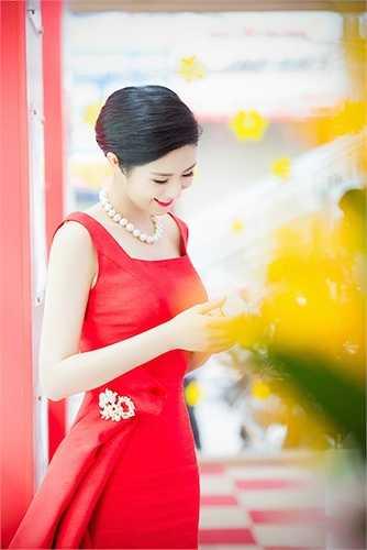 Ngày hôm qua (30/1), Ngọc Hân vừa tham gia một sự kiện được tổ chức tại Hà Nội.