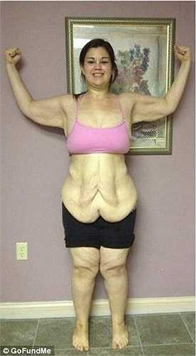Nhưng nhờ một huấn luyện viên y tế đã giúp cô giảm bằng chế độ ăn uống và tập thể dục.