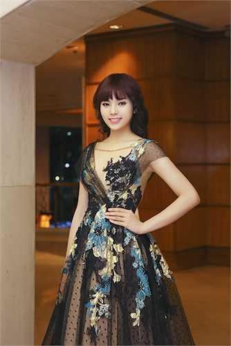 Tân Hoa hậu Việt Nam Nguyễn Cao Kỳ Duyên vừa có mặt tại TP.HCM để tham gia một sự kiện từ thiện.