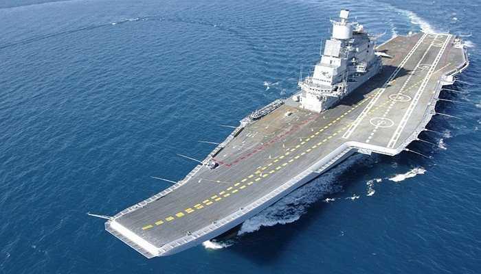 INS Vikramaditya, 2.35 tỷ USD - Đây là tàu sân bay cải tiến từ loại tàu Kiev cũ được Ấn Độ mua lại từ Nga. Tàu sân bay này nặng tới 44.500 tấn, dài tới 284m và rộng 61m, sức chứa 1.600 tới 2.200 binh lính và 30 máy bay các loại
