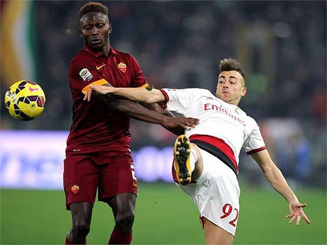 Tung vệ Mapou Yanga-Mbiwa của Newcastle được AS Roma mua đứt với giá 8,7 triệu euro