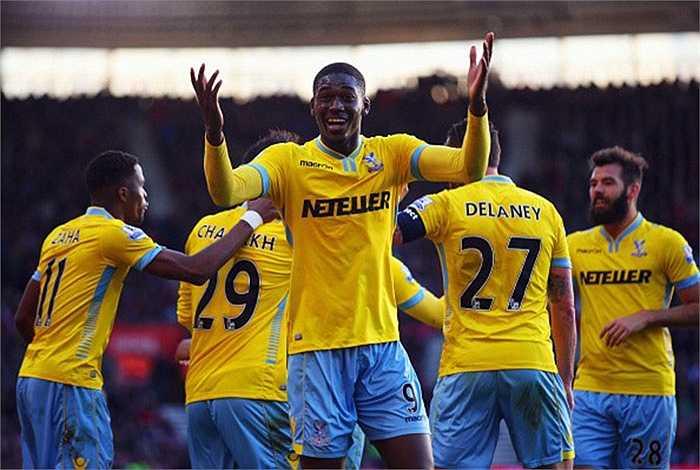 Tiền đạo trẻ người Pháp Yaya Sanogo tạm chia tay Arsenal để gia nhập Crystal Palace theo bản hợp đồng cho mượn đến hết mùa