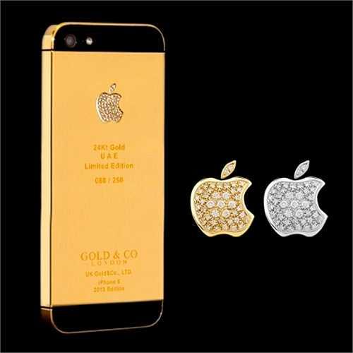 Thậm chí, các sản phẩm iPhone đời cũ như iPhoen5/5S cũng được ưa chuộng với các model mạ vàng