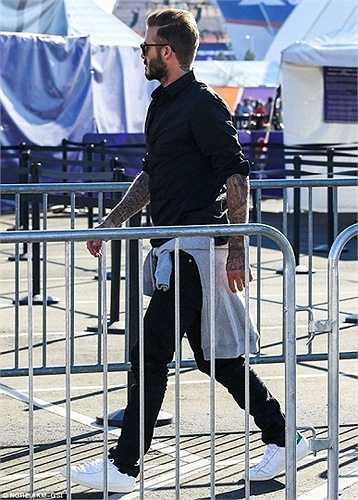 David Beckham hiện là đại sứ cho bóng đá Trung Quốc