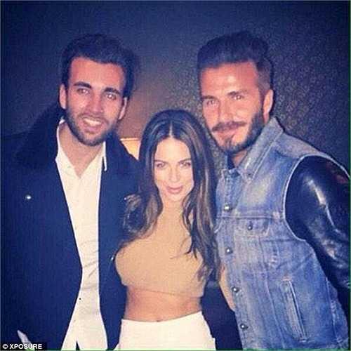 David Beckham đi dự tiệc sinh nhật của ngôi sao nhóm One
