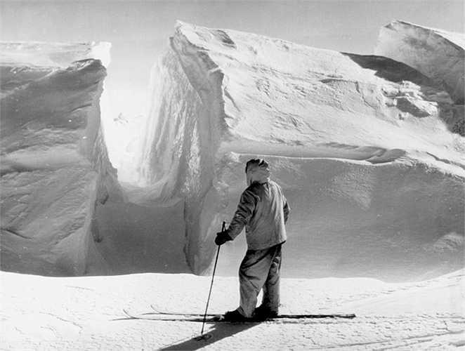 Cảnh tượng hùng vĩ ở Nam Cực, nơi nhiệt độ mùa đông vào khoảng -75 độ C