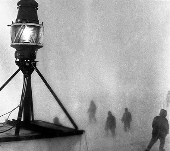 Đèn hải đăng dẫn đường cho các đoàn thám hiểm ở Nam Cực