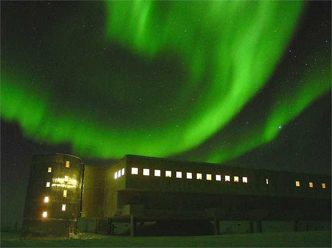 Cực quang Nam Cực một trong những phong cảnh thiên nhiên kỳ thú của thế giới