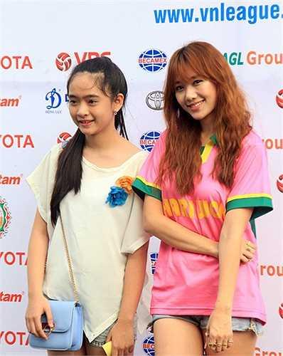 Hari Won có bố là người Việt Nam, mẹ là người Hàn Quốc. (Ảnh: Tri thức trẻ)