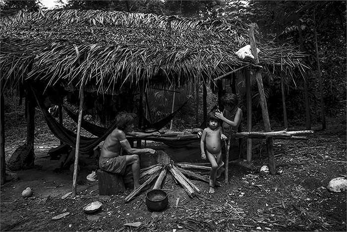 Nhiếp ảnh gia Daniel Rodrigues (Bồ Đào Nha), đã có cuộc trải nghiệm cực kỳ thú vị khi làm thành viên của bộ lạc Awa. Đây là bộ lạc du mục ít người nhất hành tinh và đang đứng trước nguy cơ tuyệt chủng.
