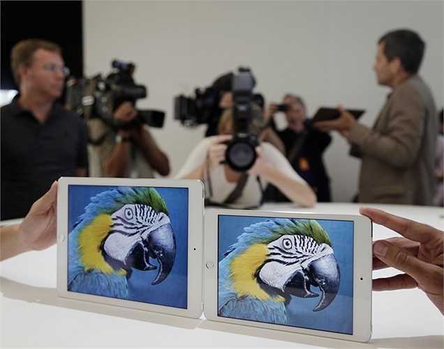 Ipad Mini 4 với vi xử lý nhanh hơn và camera sắc nét hơn.