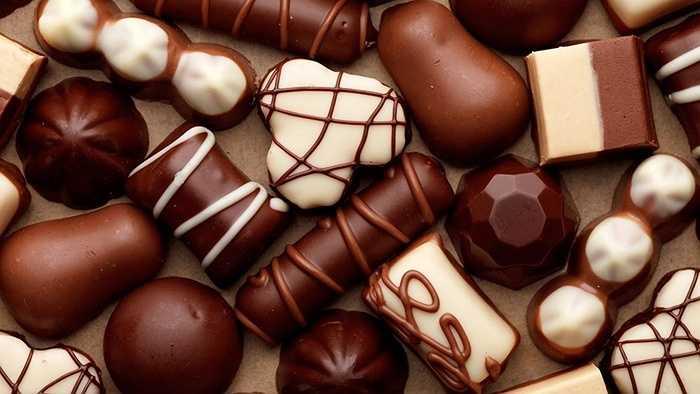 Hơn 26 triệu kg chocolate được bán trong dịp Valentine.