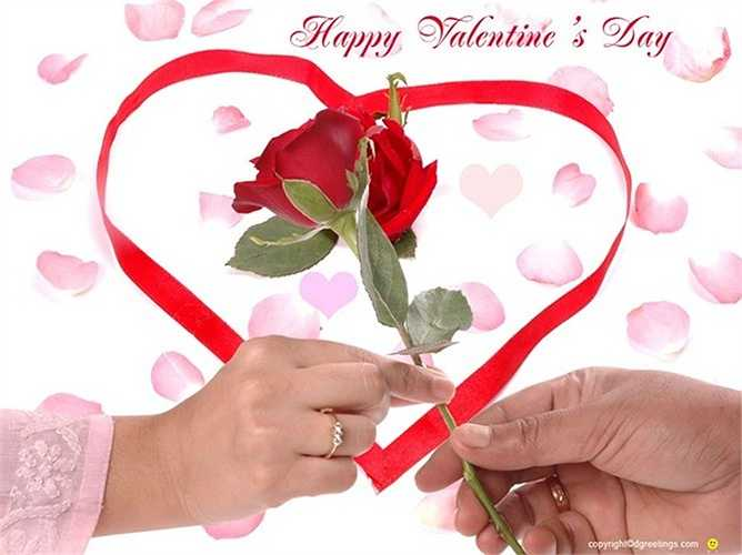 Trong dịp lễ Valentine, người Mỹ chi khoảng 4,4 tỷ USD.