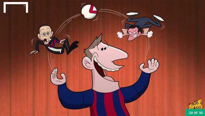 Messi là nguồn cơn mâu thuẫn ở Barca