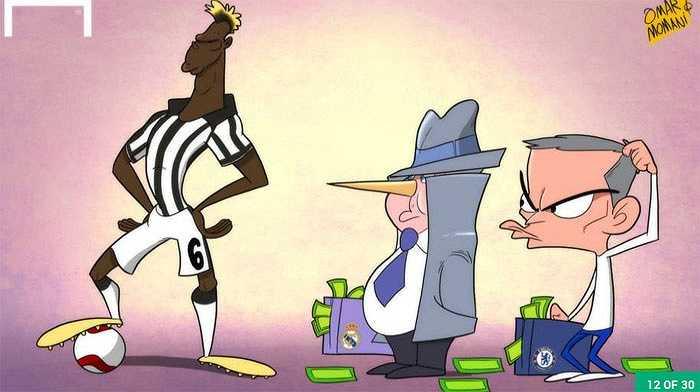 Mourinho tính mua Pogba của Chelsea nhưng giá chẳng hề rẻ