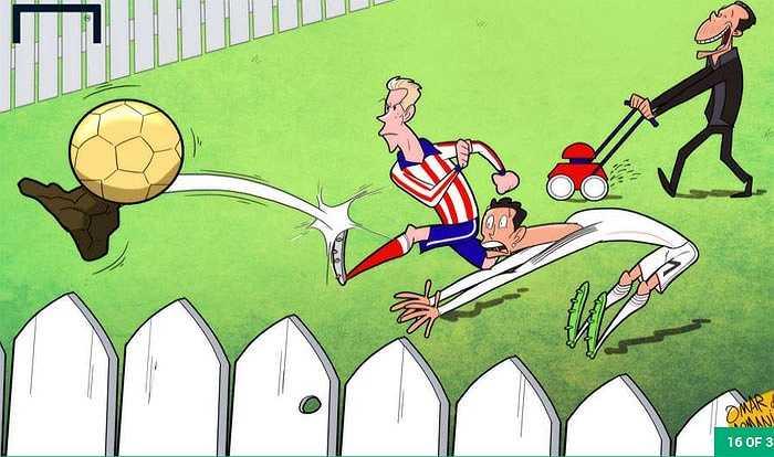 Torres sút bay Quả bóng vàng của Ronaldo.