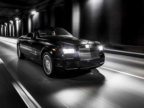 Rolls-Royce ra mắt chiếc Phantom 'Chim ưng đêm'