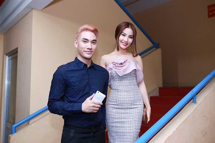 NTK Lý Qúi Khánh cùng diễn viên Diễm My