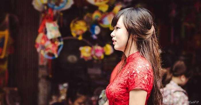 Khi được so sánh với người nổi tiếng, Thảo Ly chia sẻ: 'Mình rất ngưỡng mộ Hoa hậu Kỳ Duyên vì vẻ đẹp sắc sảo, tài năng và sự thông minh'.