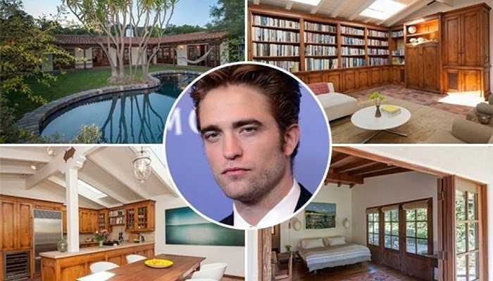 Robert Pattinson - 2,716 triệu USD là số tiền mà nam tài tử Twilight phải bỏ ra cho ngôi nhà tại đồi Hollywood. Căn nhà này chỉ có 1 tầng, chỉ rộng khoảng 180m2 tuy nhiên được thiết kế vô cùng hợp lý, tạo không gian ấm cúng