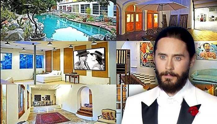 Jared Leto - Biệt thự liên hợp của sao Hollywood trị giá 5 triệu USD. Đặc biệt, nam diễn viên sở hữu thêm cả bộ sưu tập nghệ thuật độc đáo và sân bãi bóng rổ rộng rãi