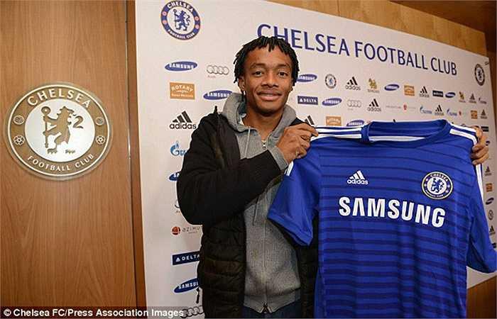 Juan Cuadrado cập bến Chelsea đúng vào ngày cuối cùng của kỳ chuyển nhượng mùa đông