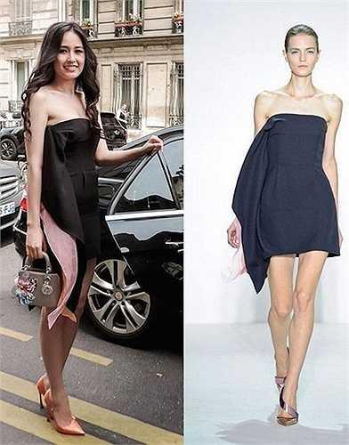 Là gương mặt đại diện duy nhất của Dior tại Việt Nam nên Mai Phương Thùy cũng từng có vinh dự được mời tới Tuần lễ thời trang cao cấp Paris 2013. Tại đây, cô xuất hiện ở hàng ghế VIP, bên cạnh rất nhiều ngôi sao Hollywood và châu Á nổi tiếng.